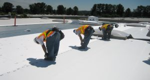 commercial flat roofing roof builder central arkansas