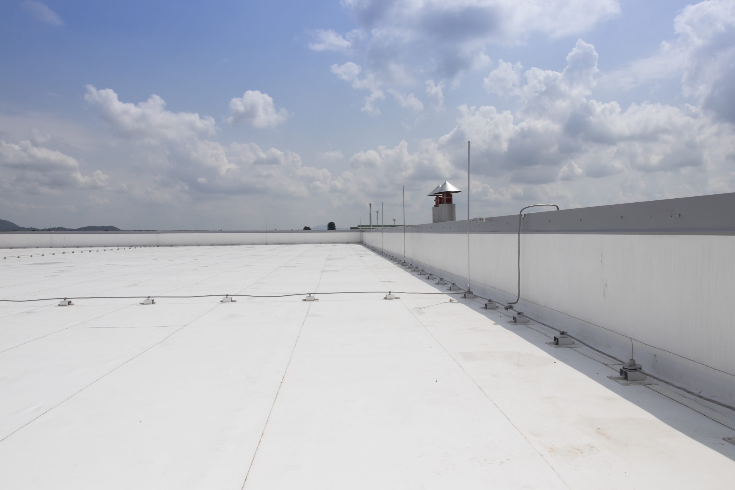commercial flat roofing roof repair roofer little rock ar contractor